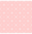 abstract geometric pink pattern with ethnic vector image vector image