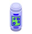 air freshener bottle icon isometric style vector image vector image