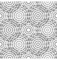 dashed circles gray abstract background seamless vector image vector image