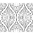 Line Black and White Decorative Pattern