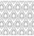 seamless floral pattern background vector image vector image
