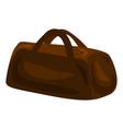 travel hand bag icon cartoon style vector image