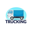Trucking logo vector image vector image