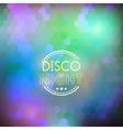 Disco nigth abstract background vector image