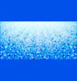 blue abstract floral background vector image vector image