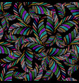 embroidery abstract floral seamless pattern vector image