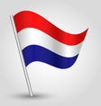 flag netherlands vector image vector image