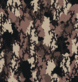 Seamless fashionable camouflage vector image vector image
