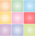 Seamless patchwork or quilt pastel vector image