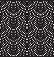 seamless pattern retro scales background vector image
