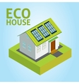 Green House concept vector image