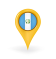 Location Guatemala vector image vector image