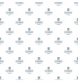 office stationery pattern seamless vector image