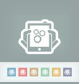 setting device vector image vector image