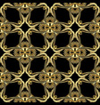 vintage gold baroque seamless pattern vector image