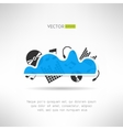 Music cloud icon Online music storage technology vector image vector image
