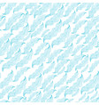 seamless hand-drawn waves pattern vector image vector image