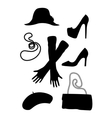 fashion classic style clothes vector image