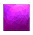 Byzantine Purple Abstract Low Polygon Background vector image vector image
