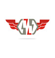 electricity power wings icon design symbol vector image vector image