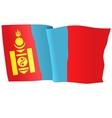 flag of Mongolia vector image vector image