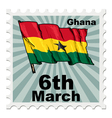 national day of Ghana vector image