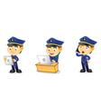 Policeman 3 vector image