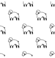 Sheep icon black Single bio eco organic product vector image vector image