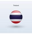 Thailand round flag