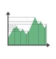 Graph elements vector image