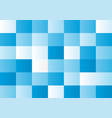 blue squares on white background vector image vector image