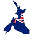 New Zealand hand signal vector image