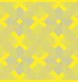 seamless lines pattern in yellow and gray color vector image vector image