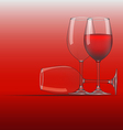 Wine Glass 3 vector image vector image