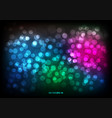 abstract color bokeh blur light background vector image vector image
