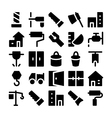 Construction Icons 4 vector image vector image