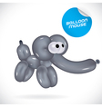 Glossy Balloon Mouse vector image