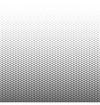 halftone dotted pattern vector image