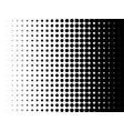 halftone pattern dot gradient background vector image vector image