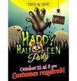 Halloween poster EPS 10 vector image