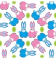 Hare rabbit easter vector image vector image