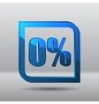 Sale percents label vector image
