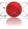 atom symbol vector image vector image