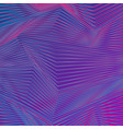 blue purple refracted lines abstract background vector image
