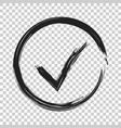 check marks ok accept icon business concept on vector image vector image