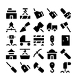 Construction Icons 7 vector image vector image
