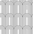 Flat gray with textured arks with continues lines vector image vector image
