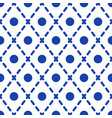 geometric blue and white minimalistic pattern vector image vector image