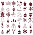Happy New Year Holiday pattern vector image vector image