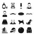 industry style animal and other web icon in vector image vector image